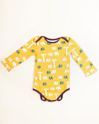 Baby body all over print