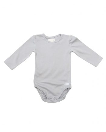 product photo body grey, trims grey, long sleeves